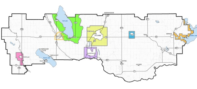 Lacombe County Map Plans & Bylaws